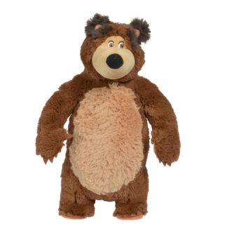 Plüss Medve Mása legjobb barátja 40 cm