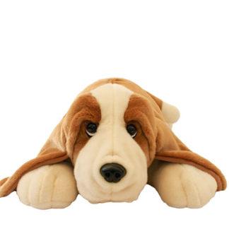Nagy Basset hound plüss kutyuli