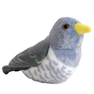 Kakkukkoló plüssjáték élethű madárhanggal.