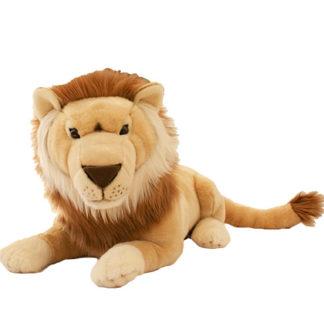 Tekintélytparancsoló hatalmas oroszlán plüssjáték figura