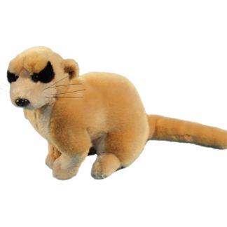 Élethű plüssből készült szurikáta a Semo játékkészítő cégtől.