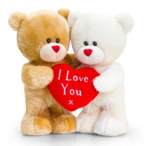 Valentin napos szerelmes plüssmackók