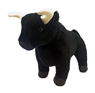 Daliás bika plüssfigura 20 centiméteres.
