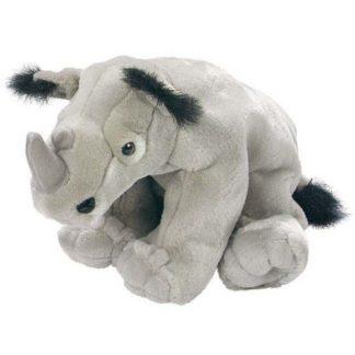 Szemrevaló rendkívül puha, márkás ülő játék orrszarvú.