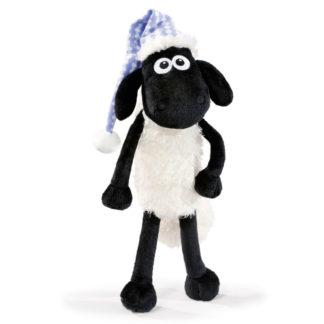 Shaun a hálósapkát viselő alvós Nici bárányka.