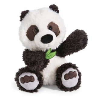 Nici panda bambusz levéllel