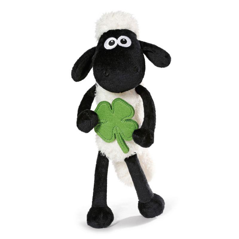 Nici márkájú lóherét tartó bárány plüssfigura