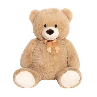 XXL méretű Teddy medve tetszetős masnival.