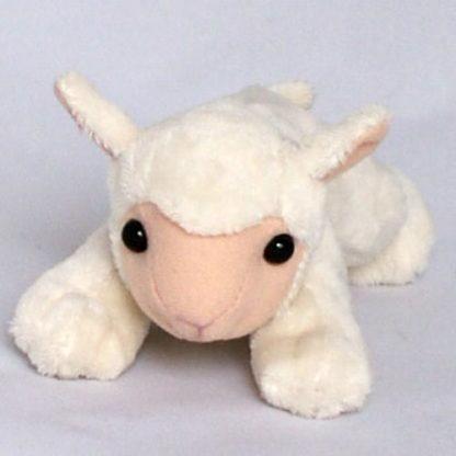 Aranyos pöttöm plüss bárányka