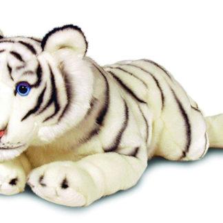 Minőségi, nagy fehér tigris plüssfigura