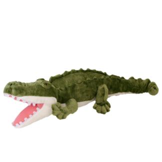 Nagy plüss krokodil