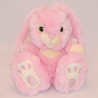 Kiválló minőségű rózsaszín plüss nyulacska