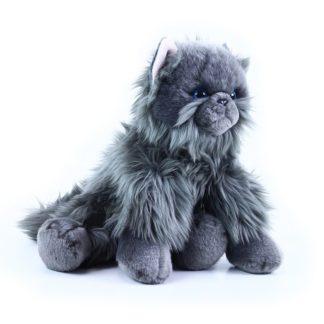 brit_hosszúszőrű plüss macska 30 cm