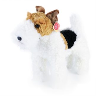 plüss foxterrier kutya 30 cm
