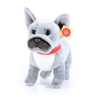 Ugatós francia bulldog plüsskutya