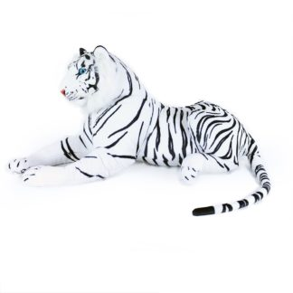 Óriás plüss fehér tigris 90 cm