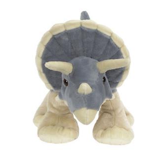 Nagyméretű triceratops plüss dinó