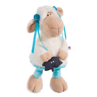 Nici Jolly plüss bárány fekte cicával