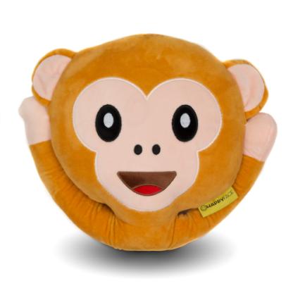 Majom emoji plüsspárna