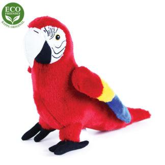 Plüss arakanga papagáj 24 cm