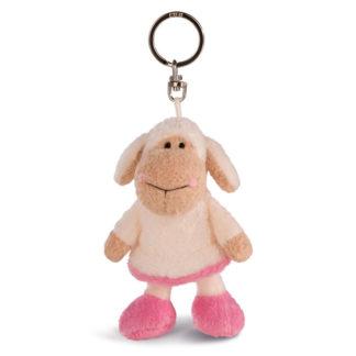 Rózsaszín Nici Jolly bárány kulcstartó