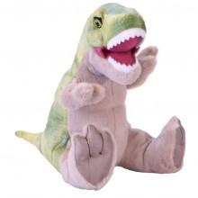 Plüss T-Rex dinó hanggal 30 cm