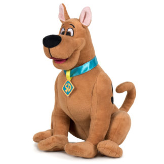 Ülő Scooby-Doo plüsskutya 30 cm