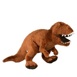 Tyrannosaurus rex plüssjáték barna színű