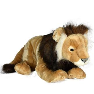 Minőségi hatlamas plüss oroszlán 70 cm