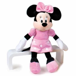 Disney plüssjáték Minnie rózsaszín ruhában 40 cm