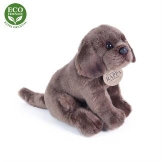 Plüss labrador kiskutya barna színű