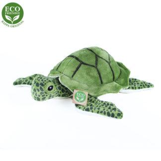 Élethű zöld tengeri teknős plüssállat