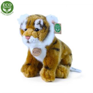 Ülő bengáli tigris plüssfigura