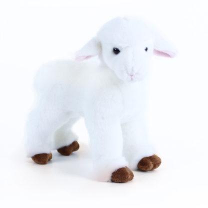 Álló bárány plüssállat húsvétra 23 cm