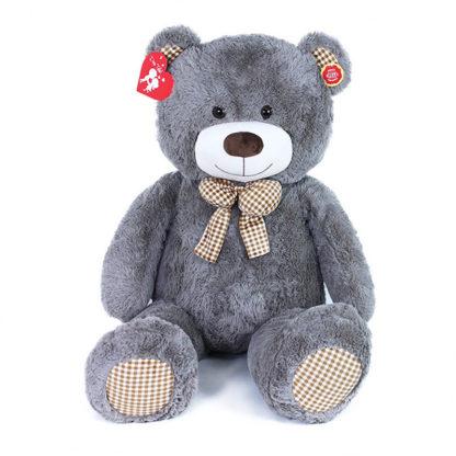 Szürke óriás Teddy maci 130 cm