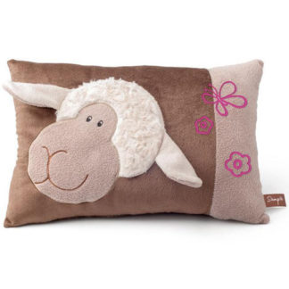 Állatos plüss párna bárány mintával