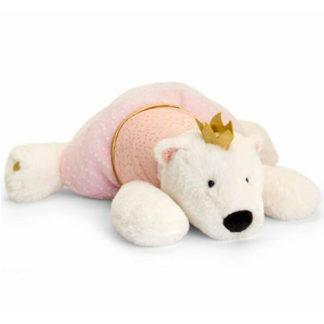 Királylány plüss jegesmedve kislányoknak