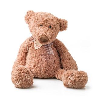Retro megjelenésű teddy maci gyapjas bundával